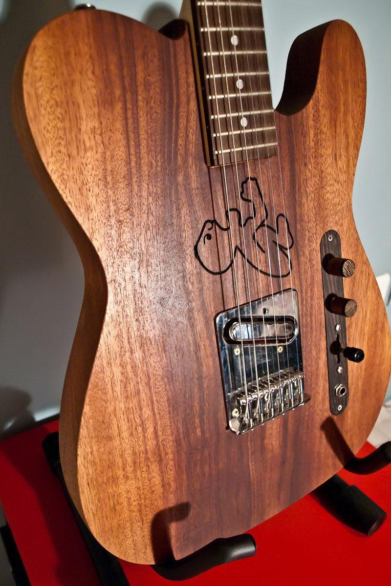 Telemaya An Quot Angry Quot Guitar Handmade Guitars