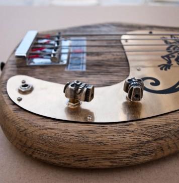 handmade-guitars-Skull bass4